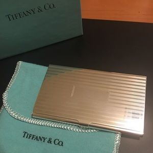 Tiffany & Co Sterling 925 Silver Card Case